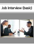 Job Interview(취업면접)