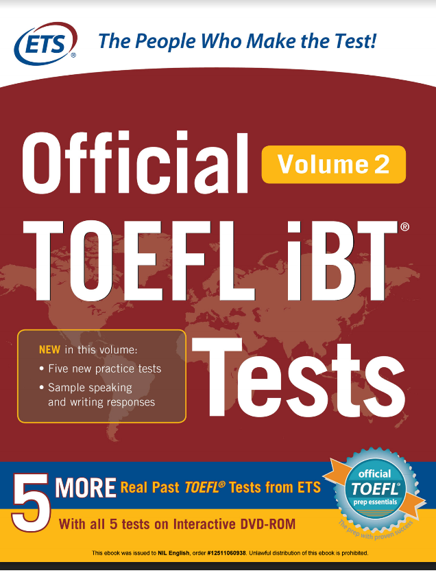 ♦Official TOEFL iBT Tests