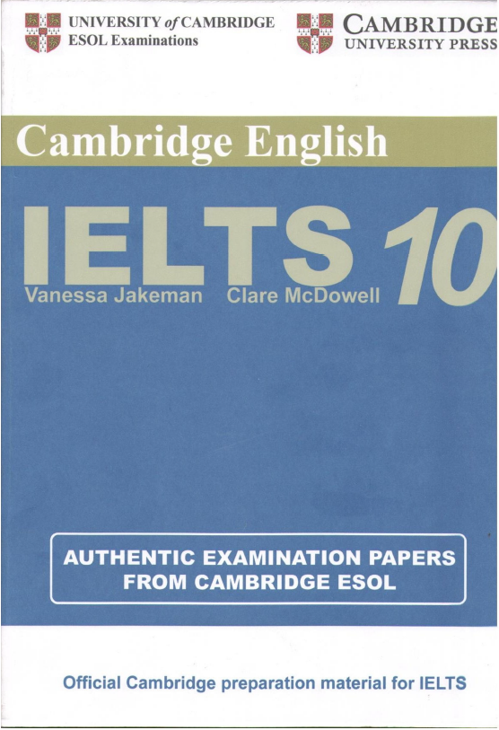 Cambridge IELTS Speaking