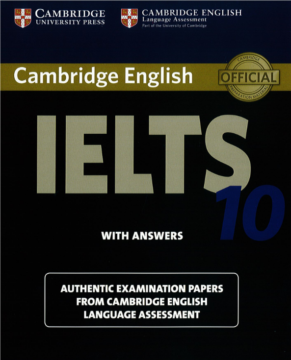 Cambridge IELTS Speaking 10